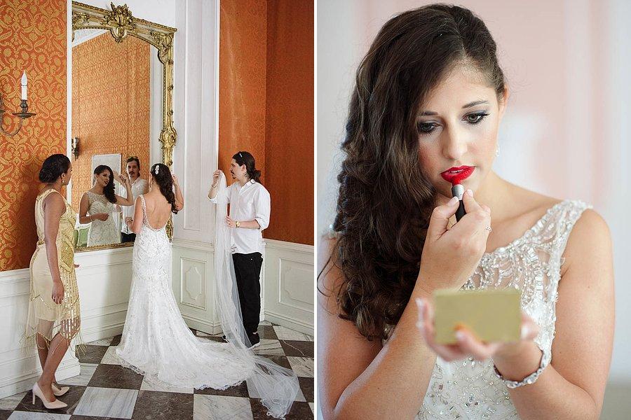 make-up Rydzyna Zamek
