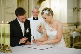 podpisywanie dokumentów ślub