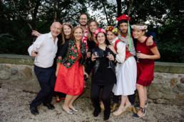 fotografia grupowa ślub wesele