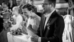 fotografia ślubna z kościoła