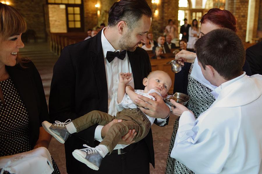 chrzest w Głogowie