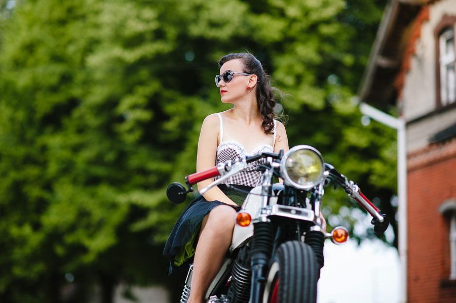 sesja motocykl fotograf Wrocław