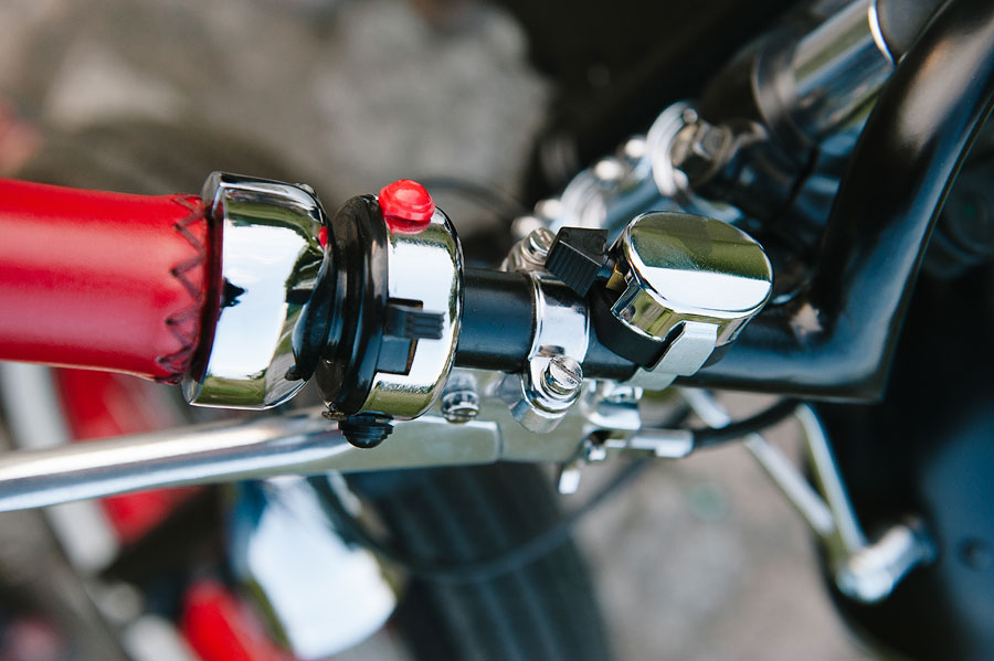 customowy motocykl