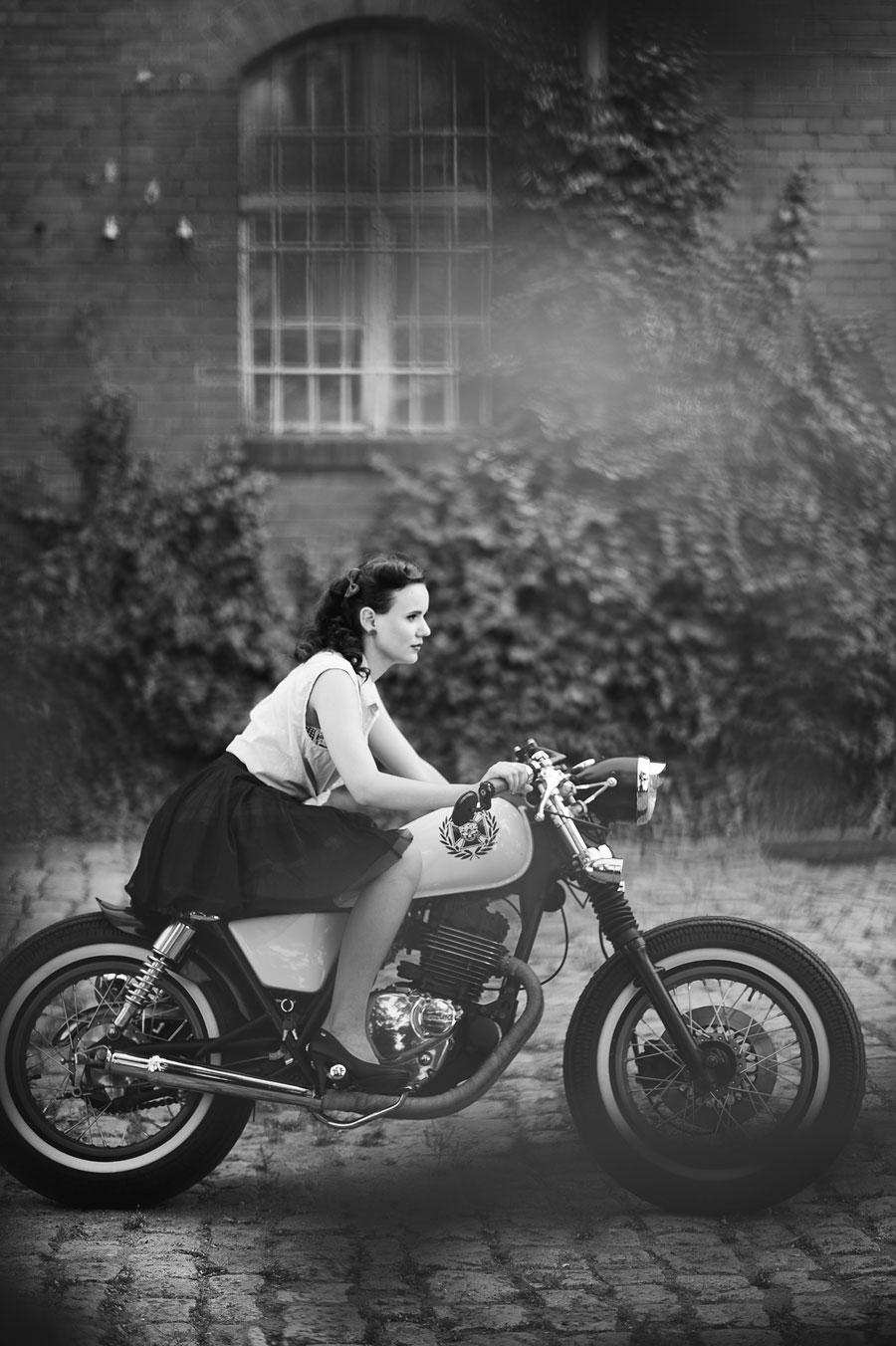 motocykl retro