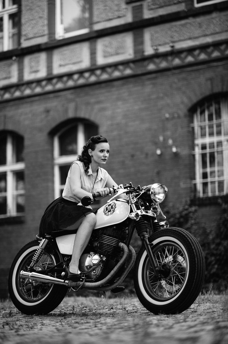 fotografia motocykla w Głogowie