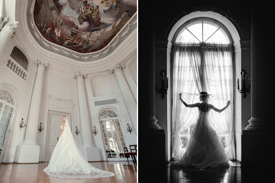 ślub w Zamku Rydzyna