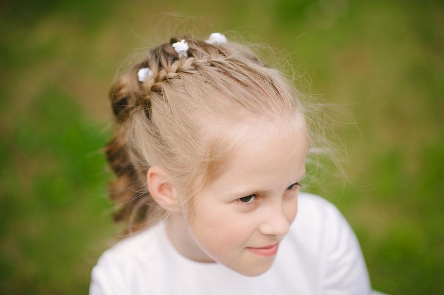 zdjęcia komunijne dziewczynka