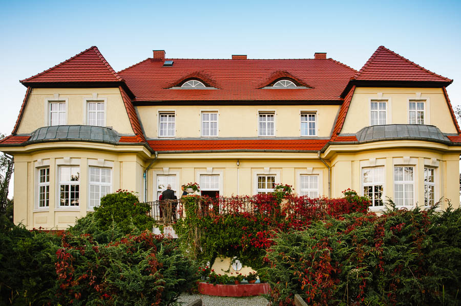 pałac na wesele koło Głogowa