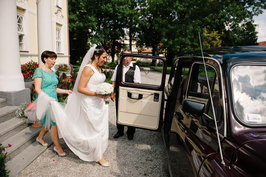 zdjęcia ślubne Pałac Witaszyce
