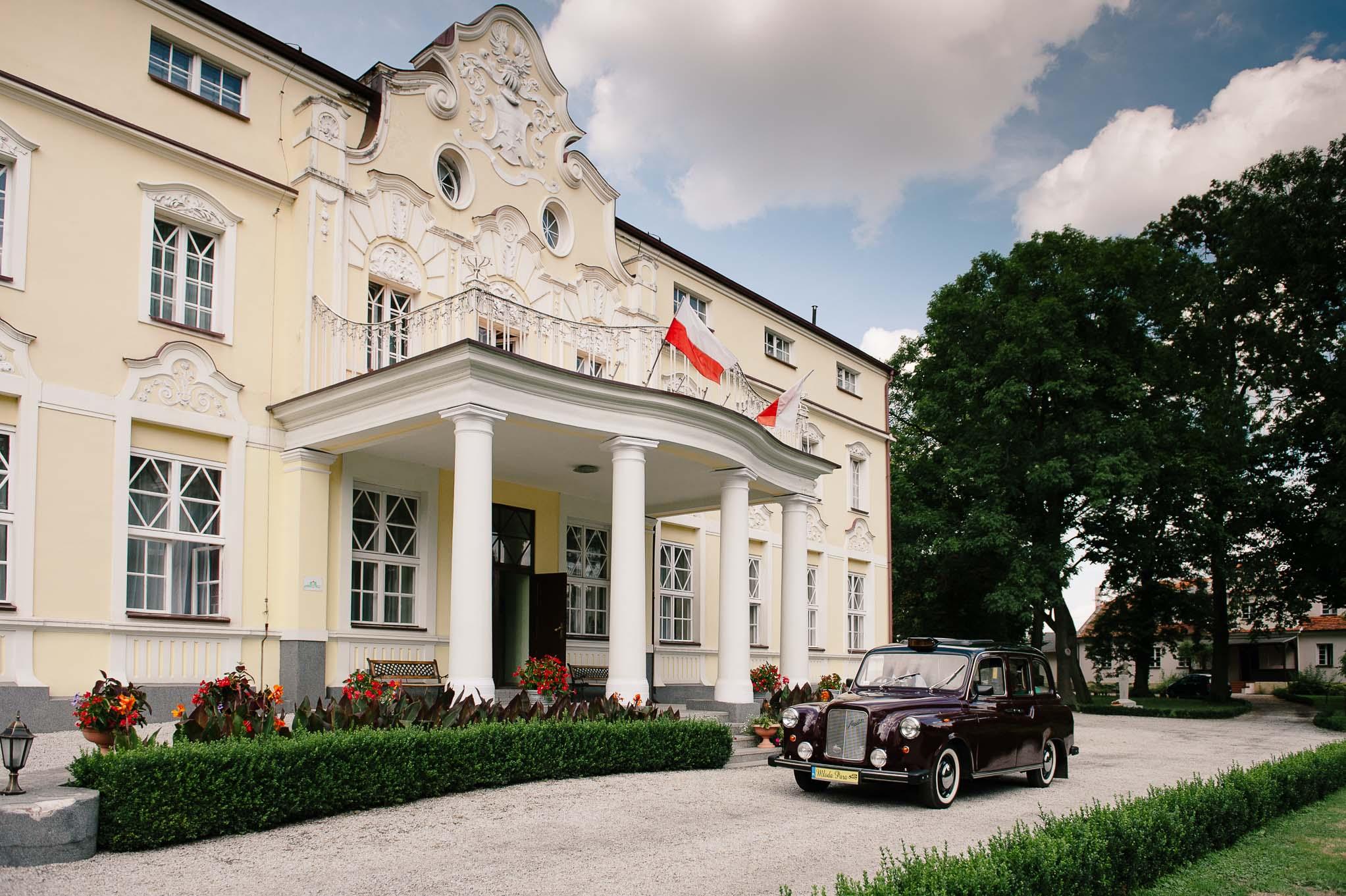 fotografia ślubna pałac Witaszyce