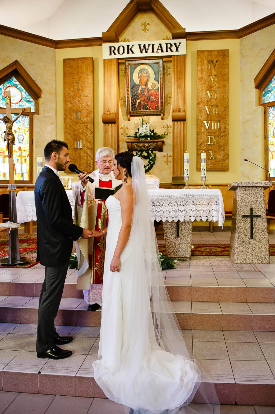 ślub kościół Witaszyce