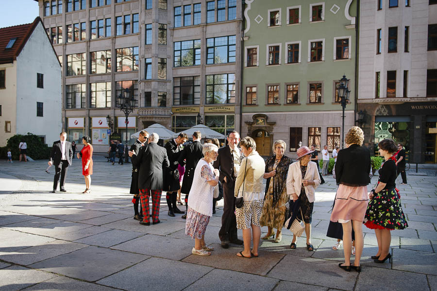 goście ślub Wrocław rynek