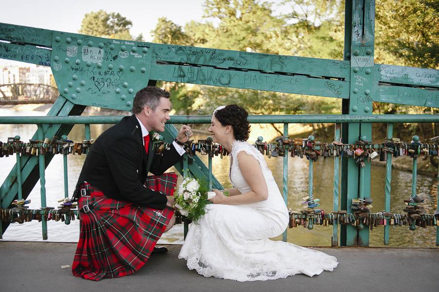 kłódka rynek wesele