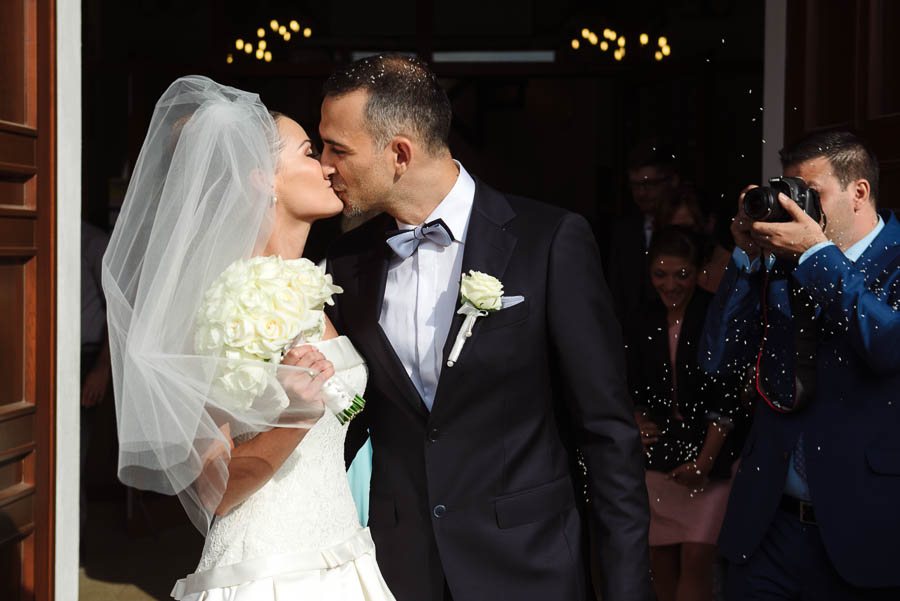 pierwszy pocałunek ślub