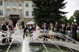 pałac brunów fontanna