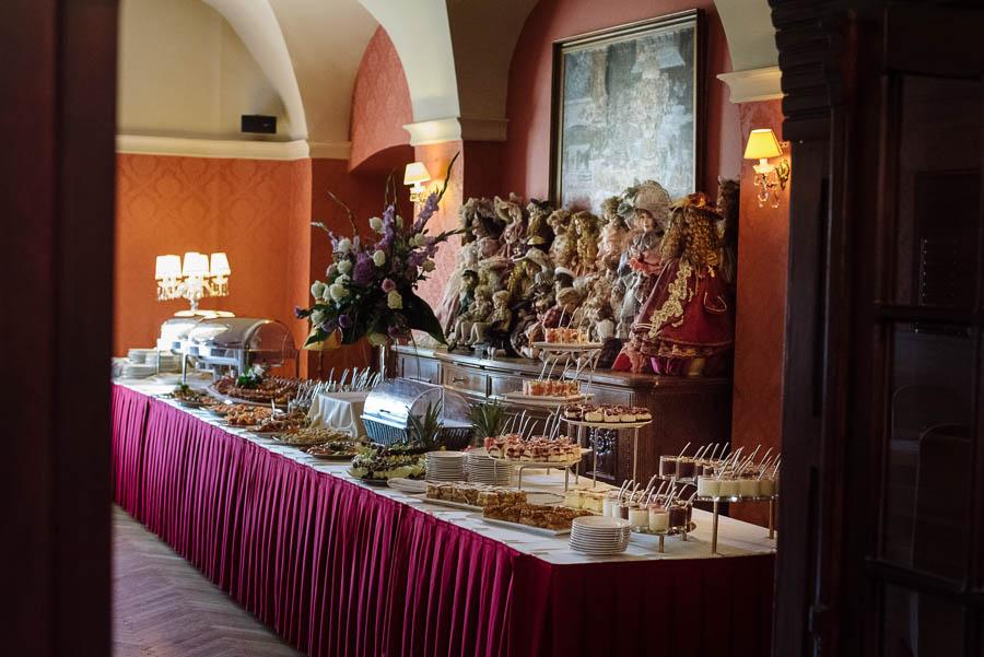 pałac Brunów dekoracje ślubne