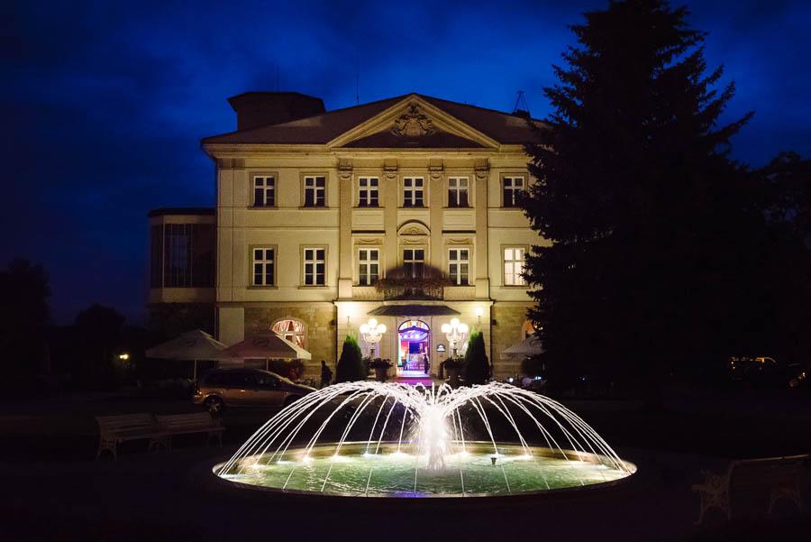 fontanna Pałac Brunów