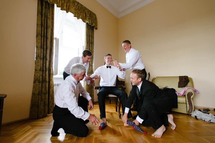 przygotowania ślub Zamek Rydzyna