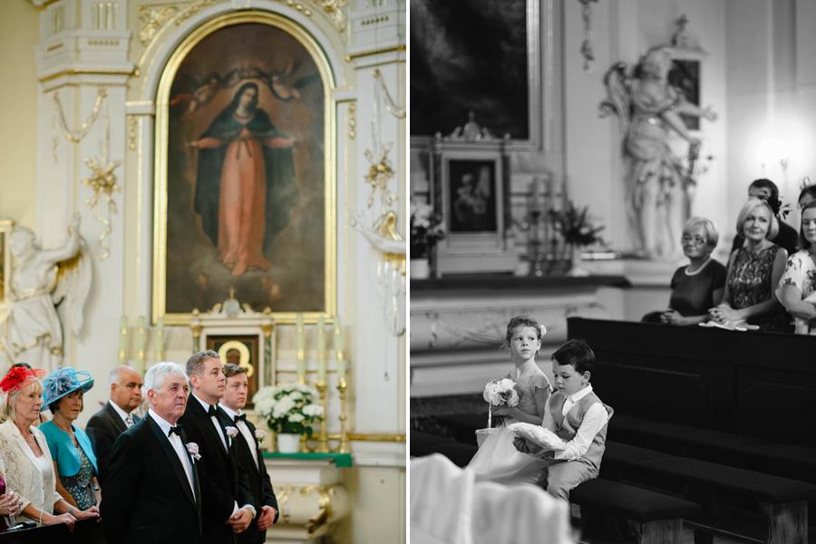 ceremonia ślubu Rydzyna