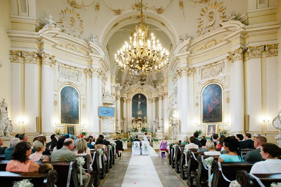piękny kościół Wielkopolska