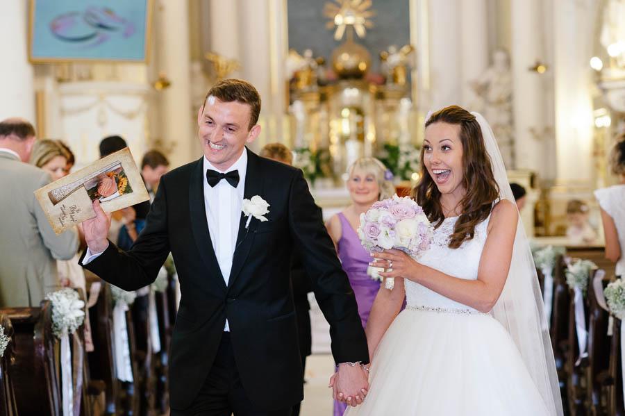 ślub kościół Rydzyna