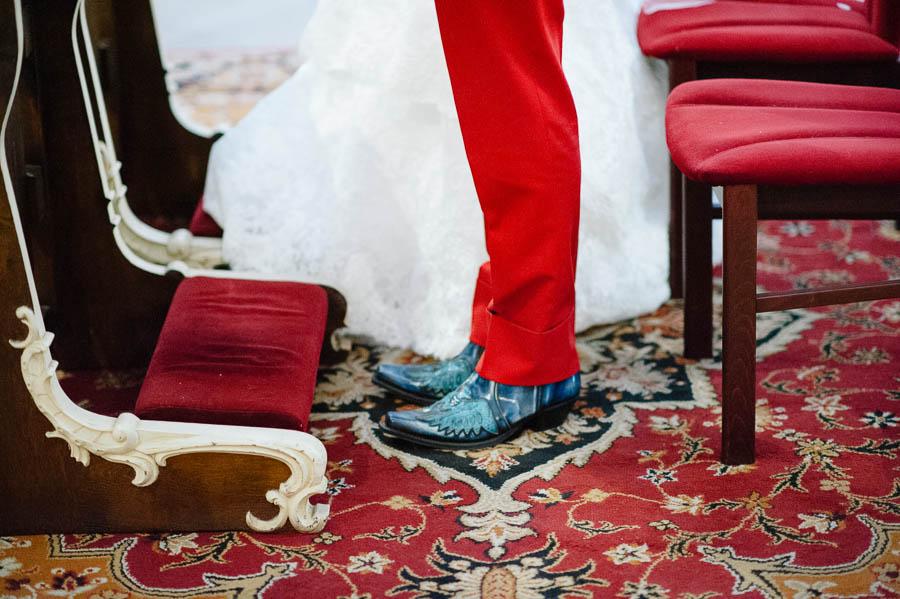 buty z krokodyla ślub