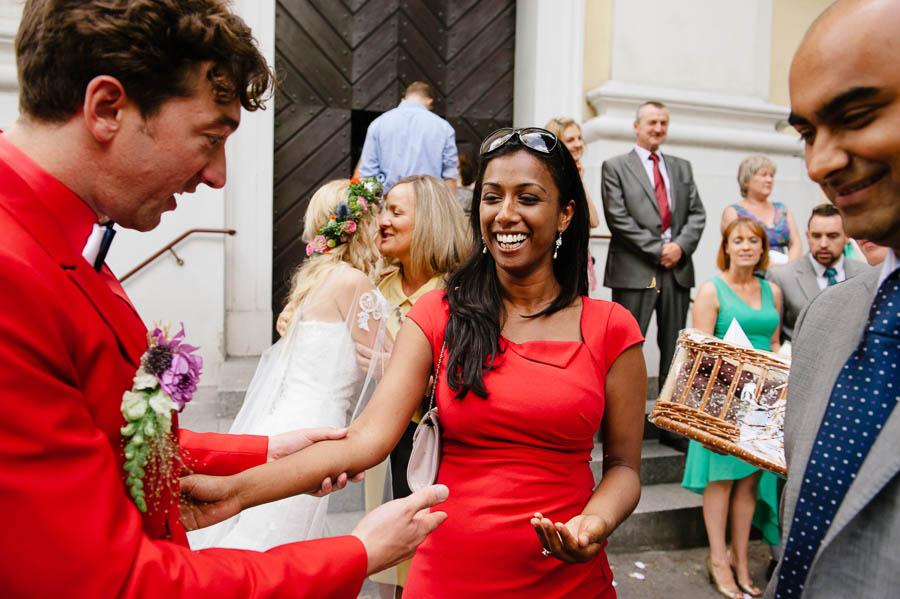 brytyjski ślub