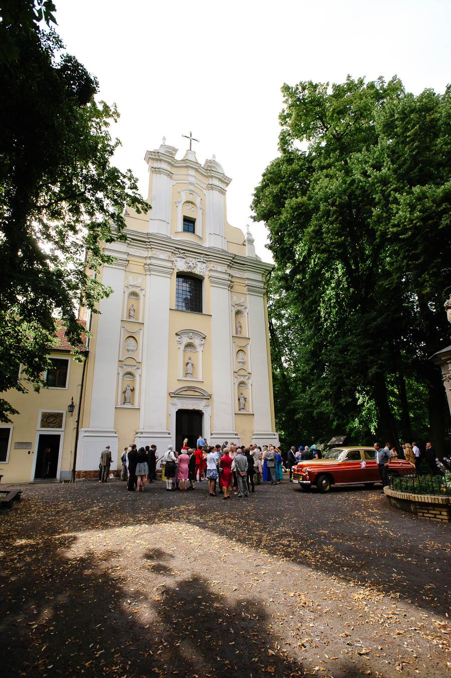 kościół w Woxnikach ślub
